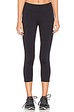 Cropped Legging en Noir