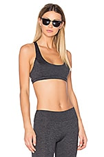 Sport Ali Cross Back Racer Bra in Grey
