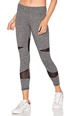 SPORT Diamond Mesh Legging en Heather