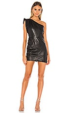 LAMARQUE Corey Mini Dress in Black