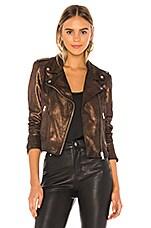 LAMARQUE Donna Leather Jacket in Bronze