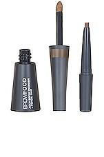 Lashfood Browfood Aqua Brow Powder + Pencil Duo in Dark Blonde