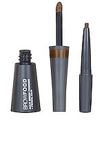 Lashfood Browfood Aqua Brow Powder + Pencil Duo in Brunette