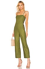 L'Academie The Charleen Jumpsuit in Olive