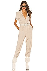 L'Academie Freedom Jumpsuit in Khaki
