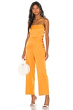L'Academie The Charleen Jumpsuit in Orange