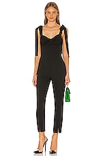L'Academie The Sid Jumpsuit in Black