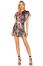 L'Academie The Gina Mini Dress in Abstract