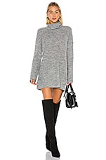 L'Academie Sable Sweater Dress in Grey
