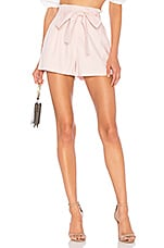 L'Academie The Lou Short in Light Pink