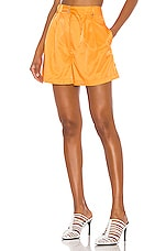 L'Academie The Roxy Short in Orange