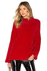 L'Academie Kyla Sweater in Red
