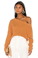 L'Academie Hally Sweater in Toffee