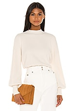 L'Academie Lumi Sweater in Cream