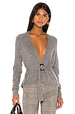 L'Academie Mara Cardigan in Grey