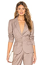 L'Academie The Audrey Jacket in Tan