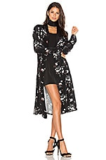 x REVOLVE The Silk Robe in Floral