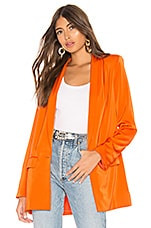 L'Academie The Fleur Blazer in Orange