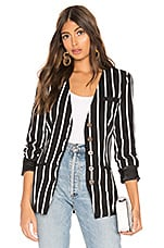 L'Academie The Blanche Jacket in Black & White