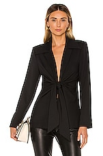 L'Academie The Tilly Blazer in Black