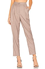 L'Academie The Booker Pant in Tan