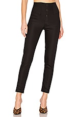 L'Academie The Isaac Pant in Black