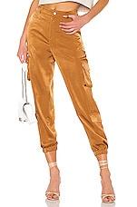 L'Academie Kelis Pants in Camel