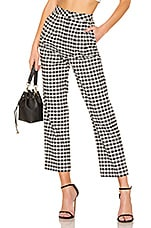 L'Academie The Orson Pant in Black & White