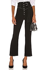 L'Academie The Liana Pant in Black