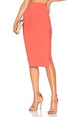 L'Academie The Barton Skirt in Rose Terracotta