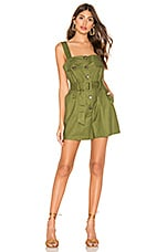 L'Academie The Riva Romper in Olive