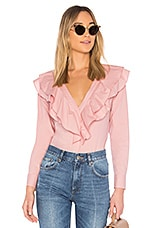 L'Academie The Solene Button Up in Rose