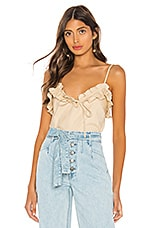 L'Academie The Flora Top in Natural