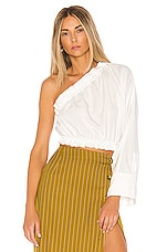 L'Academie The Emile Top in White