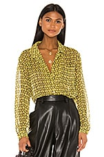 L'Academie The Lilou Top in Gold Chain