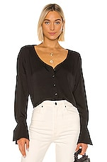 L'Academie The Devanna Top in Black