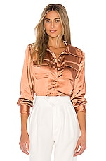 L'Academie The Germaine Top in Copper