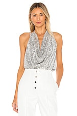 L'Academie The Sharice Top in Silver