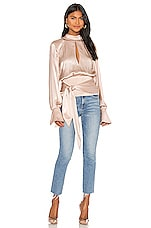 L'Academie The Pomeline Top in Champagne