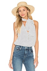 L'Academie The 70's Tank Blouse in Dot