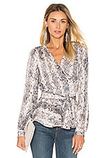 BLOUSE DRAPÉE THE LONG SLEEVE