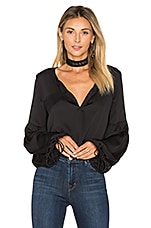 The Airy Blouse in Black