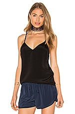 x REVOLVE The Silk Cami in Black