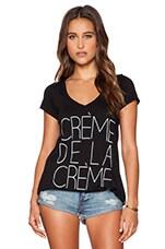 Local Celebrity Creme De La Creme Jovi Tee in Black