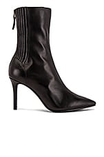 Lola Cruz Aspasia Bootie in Black