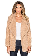MANTEAU IMITATION FOURRURE FURRY