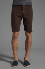 Slim 5 Pocket Cord Cut-Off in Swamp