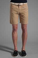 Maldives Chino Short in Khaki