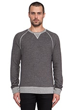 Saratoga Sweatshirt in Heather Charcoal