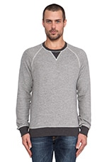 Saratoga Sweatshirt in Heather Grey